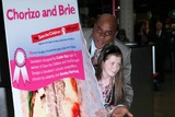 Ainsley Harriott Photo - London UK Celebrity chef Ainsley Harriott  with the 11-year-old who designed the sandwich promoting a new range of charity sandwich chorizo and brie Sandwich will stocked across First Groups trains London Paddington 16th April 2009Rafe CookLandmark Media