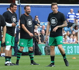 Danny Jones Photo - London UK Tamer Hassan Lee Mack and Danny Jones   at the Game4Grenfell Charity Football match at Loftus Road stadium Shepherds Bush London The event was to raise money to support the families and victims of the Grenfell Tower fire in London which killed over 80 people 2nd September 2017 Ref LMK73-S637-030917Keith MayhewLandmark Media WWWLMKMEDIACOM