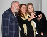 Kim Bodnia Photo - London UK Kim Bodnia and Sofia Helin (The Bridge) with fan  at the  Nordicana 2014 at Old Truman Brewery London The event is a weekend celebration of television and film created  by the Scandinavian nations of Norway Denmark Sweden and Iceland - also known as Nordic Noir 1st February 2014  RefLMK73-40545-020214 Keith MayhewLandmark MediaWWWLMKMEDIACOM
