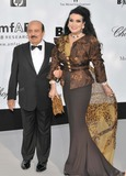Adnan Khashoggi Photo - CannesFrance Adnan Khashoggi and wife Lamia   at the amfAR Cinema Against AIDS 200861st Cannes Film Festival   22nd  May 2008 SydLandmark Media