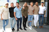Aaron Chalmers Photo - London UK Aaron Chalmers Nathan Henry Scott Timlin Marty McKenna James Tindale and Dan Thomas-Tuck at Geordie Shore 5th Birthday celebrations at MTV London on Tuesday 24 May 2016Ref LMK73 -60244-250516Keith MayhewLandmark Media WWWLMKMEDIACOM