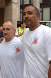Barry McGuigan Photo - London  Barry Mcguigan and Daley Thompson join Ian Botham as he arrives at Marks and Specer in Oxford street on a charity walk  The walk is for the charities Leukaemia Research and the Teenage Cancer Trust17 October 2006Ali Kadinsky  Landmark Media
