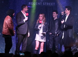 The Script Photo - London UK Cast of White Christmas  Amanda Holden Jamie Theakston and The Script at Londons Premier Shopping destination Regent Street  annual Christmas Lights Switch On Event Regent Street London on November 14th 2019Ref LMK73-5793-151119Keith MayhewLandmark MediaWWWLMKMEDIACOM