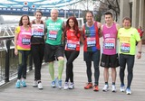 Andrew Strauss Photo - London UK  Amanda Mealing  Kelly Sotherton Iwan Thomas Amy Childs  Andrew Strauss   James Toseland   and Mike Bushell (TV Sports presenter)  at the London Marathon 2013 Celebrities Photocall outside the Tower Hotel London 17th April  2013Keith MayhewLandmark Media