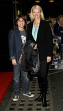 Anneka Rice Photo - London UK Anneka Rice and Son at the Skelling VIP screnning held at the Curzon Mayfair cinema in London 25th March 2009Can NguyenLandmark Media