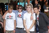 Harry Judd Photo - London UK McFly (Tom Fletcher Dougie Poynter Danny Jones and Harry Judd) at the UK Premiere of Superman Returns at the Odeon Leicester Square13 July 2006Keith MayhewLandmark Media