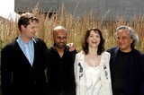 Akram Khan Photo - London UK (From L-R) Composer Philip Sheppard Dancer and choreographer Akram Khan actress Juliette Binoche  and Artist Anish Kapoor (who is designing the set) attending the launch of the new dance theatre and film collaboration Jubi lation at Olivier Stalls Foyer level 2 National Theatre on the South Bank 4th July 2008Ali KadinskyLandmark Media