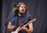 The Vaccines Photo - Reading UK Justin Young of The Vaccines performing live during Reading Festival 2012 at Richfield Avenue in Reading  August 25 2012 Justyna SankoLandmark Media