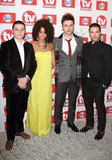 Adiza Shardow Photo - London UK Carl Au Shane OMeara Adiza Shardow and Jody Latham at The TV Choice Awards 2013 at at the Dorchester Hotel  Park Lane Mayfair London UK 9th September 2013Ref LMK73-45212-100913Keith MayhewLandmark Media WWWLMKMEDIACOM