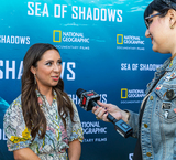 Ava Cantrell Photo - LOS ANGELES CA - JULY 10  Actress Ava Cantrell speaks to reporters at the National Geographic Sea of Shadows Movie Premiere on July 10 2019 in Los Angeles California  (Photo by Corine SolbergImageCollectcom)