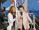 Harry Styles Photo - MANHATTAN NEW YORK CITY NEW YORK USA - FEBRUARY 26 Hoda Kotb and Harry Styles pose on NBCs Today Show held at Rockefeller Plaza on February 26 2020 in Manhattan New York City New York United States (Photo by Image Press Agency)