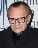Larry King Photo - LOS ANGELES CA USA - DECEMBER 05 Larry King arrives at the 2018 National Film And Television Awards Ceremony held at the Globe Theatre on December 5 2018 in Los Angeles California United States (Photo by Image Press Agency)
