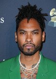 MIGUEL BOS Photo - BEVERLY HILLS LOS ANGELES CALIFORNIA USA - JANUARY 25 Miguel arrives at The Recording Academy And Clive Davis 2020 Pre-GRAMMY Gala held at The Beverly Hilton Hotel on January 25 2020 in Beverly Hills Los Angeles California United States (Photo by Xavier CollinImage Press Agency)