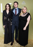 Ann Hathaway Photo - HOLLYWOOD LOS ANGELES CALIFORNIA USA - MAY 08 Anne Hathaway Chris Addison and Rebel Wilson arrive at the Los Angeles Premiere Of MGMs The Hustle held at ArcLight Cinerama Dome on May 8 2019 in Hollywood Los Angeles California United States (Photo by David AcostaImage Press Agency)