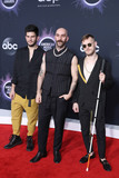 Sam Harris Photo - LOS ANGELES CALIFORNIA USA - NOVEMBER 24 Adam Levin Sam Harris and Casey Harris of X Ambassadors arrive at the 2019 American Music Awards held at Microsoft Theatre LA Live on November 24 2019 in Los Angeles California United States (Photo by Xavier CollinImage Press Agency)