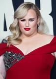 Rebel Wilson Photo - HOLLYWOOD LOS ANGELES CALIFORNIA USA - OCTOBER 15 Actress Rebel Wilson wearing a Badgley Mischka dress arrives at the Premiere Of Fox Searchlights Jojo Rabbit held at the Hollywood American Legion Post 43 on October 15 2019 in Hollywood Los Angeles California United States (Photo by David AcostaImage Press Agency)