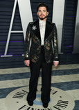 Adam Lambert Photo - BEVERLY HILLS LOS ANGELES CA USA - FEBRUARY 24 Adam Lambert arrives at the 2019 Vanity Fair Oscar Party held at the Wallis Annenberg Center for the Performing Arts on February 24 2019 in Beverly Hills Los Angeles California United States (Photo by Xavier CollinImage Press Agency)