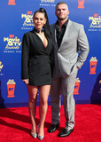 Jenni JWOWW Farley Photo - SANTA MONICA LOS ANGELES CALIFORNIA USA - JUNE 15 Jenni JWoww Farley and Zack Clayton Carpinello arrive at the 2019 MTV Movie And TV Awards held at Barker Hangar on June 15 2019 in Santa Monica Los Angeles California United States (Photo by Xavier CollinImage Press Agency)