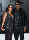 Joseph Corr Photo - LOS ANGELES CALIFORNIA USA - JANUARY 26 Heather Carmillia Joseph and son 21 Savage arrive at the 62nd Annual GRAMMY Awards held at Staples Center on January 26 2020 in Los Angeles California United States (Photo by Xavier CollinImage Press Agency)