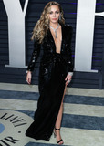 Miley Cyrus Photo - (FILE) Miley Cyrus Helps MAC Announce a 10 Million Donation for Coronavirus COVID-19 Pandemic Relief BEVERLY HILLS LOS ANGELES CALIFORNIA USA - FEBRUARY 24 Singer Miley Cyrus wearing a Saint Laurent by Anthony Vaccarello dress and Bvlgari jewelry arrives at the 2019 Vanity Fair Oscar Party held at the Wallis Annenberg Center for the Performing Arts on February 24 2019 in Beverly Hills Los Angeles California United States (Photo by Xavier CollinImage Press Agency)