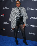 Aisha Hinds Photo - HOLLYWOOD LOS ANGELES CA USA - MARCH 17 Actress Aisha Hinds arrives at the 2019 PaleyFest LA - FOXs 9-1-1 held at the Dolby Theatre on March 17 2019 in Hollywood Los Angeles California United States (Photo by Xavier CollinImage Press Agency)