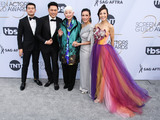 Jon M Chu Photo - LOS ANGELES CA USA - JANUARY 27 Jon M Chu Ronny Chieng Lisa Lu Tan Kheng Hua and Fiona Xie arrive at the 25th Annual Screen Actors Guild Awards held at The Shrine Auditorium on January 27 2019 in Los Angeles California United States (Photo by Xavier CollinImage Press Agency)