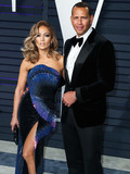 Alex Rodriguez Photo - (FILE) Jennifer Lopez and Alex Rodriguez Retain JPMorgan to Raise Money for Mets Bid Retired baseball star Alex Rodriguez and his fiance recording artist and actor Jennifer Lopez have retained JPMorgan Chase to raise capital for a possible bid on the New York Mets people familiar with the matter said BEVERLY HILLS LOS ANGELES CALIFORNIA USA - FEBRUARY 24 Singeractress Jennifer Lopez (wearing Zuhair Murad Couture) and boyfriendAmerican retired Baseball shortstop Alexander Rodriguez arrive at the 2019 Vanity Fair Oscar Party held at the Wallis Annenberg Center for the Performing Arts on February 24 2019 in Beverly Hills Los Angeles California United States (Photo by Xavier CollinImage Press Agency)
