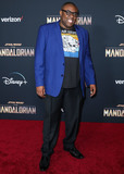 Andre Meadows Photo - HOLLYWOOD LOS ANGELES CALIFORNIA USA - NOVEMBER 13 Andre Meadows arrives at the Los Angeles Premiere Of Disneys The Mandalorian held at the El Capitan Theatre on November 13 2019 in Hollywood Los Angeles California United States (Photo by Xavier CollinImage Press Agency)