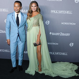 Chrissy Teigen Photo - CULVER CITY LOS ANGELES CALIFORNIA USA - NOVEMBER 09 Singer John Legend and wifemodel Chrissy Teigen arrive at the 2019 Baby2Baby Gala held at 3Labs on November 9 2019 in Culver City Los Angeles California United States (Photo by Xavier CollinImage Press Agency)