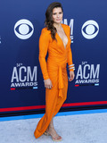 Danica Patrick Photo - LAS VEGAS NEVADA USA - APRIL 07 Danica Patrick arrives at the 54th Academy Of Country Music Awards held at the MGM Grand Garden Arena on April 7 2019 in Las Vegas Nevada United States (Photo by Xavier CollinImage Press Agency)