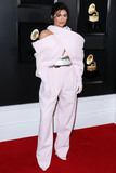 Grammy Awards Photo - (FILE) Kylie Jenner To Donate Hand Sanitizers to Southern California Hospitals With Coty Amid Coronavirus COVID-19 Pandemic LOS ANGELES CALIFORNIA USA - FEBRUARY 10 Television personality Kylie Jenner wearing Balmain Couture dress and Jimmy Choo shoes arrives at the 61st Annual GRAMMY Awards held at Staples Center on February 10 2019 in Los Angeles California United States (Photo by Xavier CollinImage Press Agency)