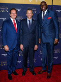Magic Johnson Photo - MANHATTAN NEW YORK CITY NEW YORK USA - NOVEMBER 20 Former NFL Player Joe Theismann President and CEO of Cinga David Cordani and American basketball player  Magic Johnson arrive at the 29th Annual Achilles Gala held at Cipriani South Street on November 20 2019 in Manhattan New York City New York United States (Photo by William PerezImage Press Agency)