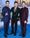 Jonas Brothers Photo - HOLLYWOOD LOS ANGELES CALIFORNIA USA - DECEMBER 09 Joe Jonas Nick Jonas and Kevin Jonas of Jonas Brothers arrive at the World Premiere Of Columbia Pictures Jumanji The Next Level held at the TCL Chinese Theatre IMAX on December 9 2019 in Hollywood Los Angeles California United States (Photo by Xavier CollinImage Press Agency)