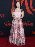 Baby Ariel Photo - HOLLYWOOD LOS ANGELES CALIFORNIA USA - MARCH 09 Baby Ariel (Ariel Rebecca Martin) arrives at the World Premiere Of Disneys Mulan held at the El Capitan Theatre and Dolby Theatre on March 9 2020 in Hollywood Los Angeles California United States (Photo by Xavier CollinImage Press Agency)