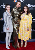 Beanie Feldstein Photo - LAS VEGAS NEVADA USA - MAY 01 Kaitlyn Dever Olivia Wilde and Beanie Feldstein arrive at the 2019 Billboard Music Awards held at the MGM Grand Garden Arena on May 1 2019 in Las Vegas Nevada United States (Photo by Xavier CollinImage Press Agency)