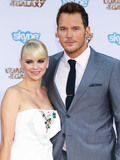 Anna Faris Photo - (FILE) Chris Pratt and Anna Faris Divorce Settlement Details Revealed The details of the divorce settlement between Chris Pratt and Anna Faris are coming to light The two who obtained a private judge to work out the deal reportedly signed off on the deal on Wednesday (November 7 2018) according to TMZ According to the documents they have agreed to live no more than five miles apart for about the next five years This deal was made so that the two parents stay in place until their six-year-old son Jack completes the sixth grade HOLLYWOOD LOS ANGELES CA USA - JULY 21 Actors Anna Faris (wearing a Paule Ka dress Edie Parker clutch Dana Rebecca Designs earrings and Graziela Gems ring) and Chris Pratt (wearing a Sand Copenhagen suit Walk-Over shoes and Chopard timepiece) arrive at the Los Angeles Premiere Of Marvels Guardians Of The Galaxy held at the El Capitan Theatre on July 21 2014 in Hollywood Los Angeles California United States (Photo by Xavier CollinImage Press Agency)
