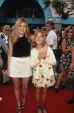 Ashley Johnson Photo - Ashley Johnson with Sister Hayley Johnson Pinocchio Premiere in Los Angeles 1996 K5640fb Photo by Fitzroy Barrett-Globe Photos Inc
