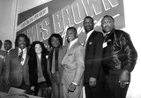 George Foreman Photo - AL Sharpton James Brown with Wife Butch Lewis Michael Spinks and George Foreman Photo by Bruce Cotler-Globe Photos Inc Jamesbrownretro