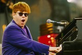 Elton John Photo - Elton John During His Concert in Duessseldorf Germany 6-14-1998 Photo by Dpa-ipol-Globe Photos Inc