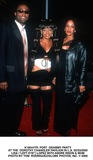 Andre Rison Photo -  Post Grammy Party at the Dorothy Chandler Pavilion in LA 02232000 Lisa (Left Eye) Lopez with Andre Rison  Mom Photo by Tom RodriguezGlobe Photos Inc