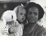 Eartha Kitt Photo - Eartha Kitt with Her Daughter Kitt Inside a West End Store 1965 Photo by Mirrorpic-Globe Photos Inc