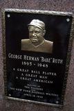 Babe Ruth Photo - Lou Gehrigs 100th Birthday Celebration at Yankee Stadium New York City 06192003 Photo John Barrett Globe Photos Inc 2003 George Herman Babe Ruth Memeorial