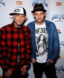 Anvil Photo - Benji and Joel Madden During the Premiere of the New Movie Anvil the Story of Anvil  Held at the Egyptian Theatre on 04-07-2009 in Los Angeles Photo Michael Germana- Globe Photos