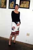 Carmen Llywellyn Photo -  Mary Steenburgen Presents the Works of Artist America LA CA 02212002 Photo by Amy GravesGlobe Photosinc2002 Carmen Llywellyn