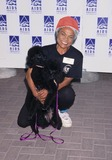 ABBA Photo - Eartha Kitt with Poodles Mootsie and Abba Aids Walk in Los Angeles 1996 Photo by Lisa Rose-Globe Photos Inc