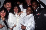 Nell Carter Photo - Susan Munao Nell Carter Tony Orlando and Wife Airforce Serviceman Photo by Craig SkinnerGlobe Photos Inc 1991 L1328 Nellcarterretro