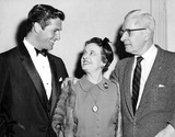 Hugh OBrian Photo - Hugh Obrian with His Parents Mr  Mrs Hugh Krampe 1161958 1950s Supplied by Globe Photos Inc