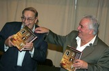 Tony Lip Photo - the Authors of Shut Up and Eat  Sign Copies of Their Book at Barnes and Noble New York City 10-13-2005 Photo Rick Mackler-rangefinders-Globe Photos 2005 Tony Lip Vinny Vella