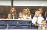 Andrei Pavel Photo - Us Open-andre Agassi Vs Andrei Pavel Match Date 08-28-06 Photo by John Barrett-Globe Photos Inc Steffi Graf and Kids