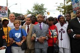 Rev Al Sharpton Photo - Rally For Choke Victim Eric Garner Held in Thompkinsville Staten Island Rev Al Sharpton and Other Officials Started the March and Rally at the Site of the Choking and Then Marched Pass the Staten Island District Attorneys Office and Ended the March on Bay Street Where They Gathered to Listened to Officials Speak to the Crowd